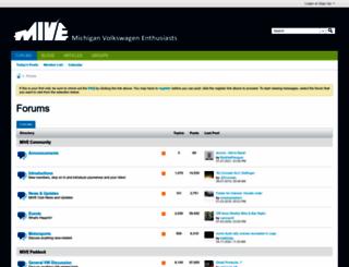 michiganvw.org screenshot