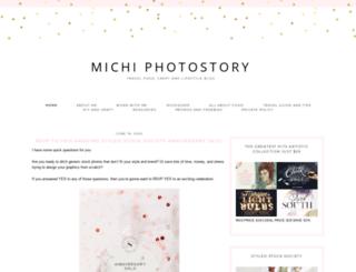 michiphotostory.com screenshot