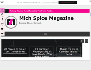 michspicemagazine.com screenshot
