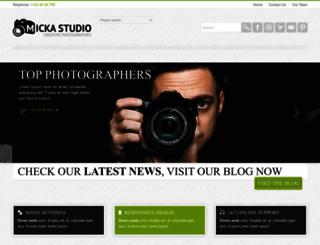 micka.premiumcoding.com screenshot