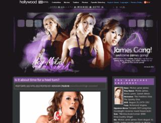 mickie-j.net screenshot