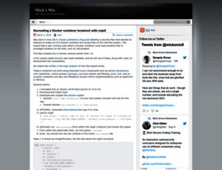 micksmix.wordpress.com screenshot