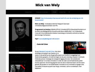 mickvanwely.nl screenshot
