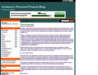 miclason.savingadvice.com screenshot