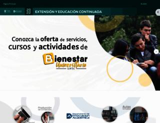 miclave.uptc.edu.co screenshot