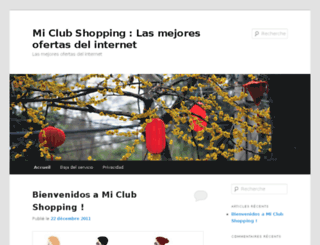 miclubshopping.com screenshot
