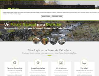 micocebollera.com screenshot