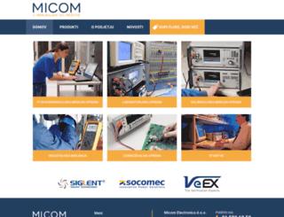 micom-tm.com screenshot
