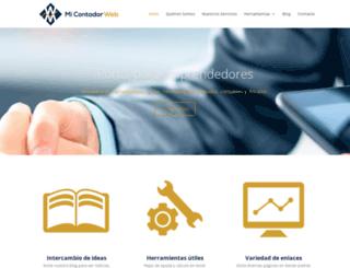 micontadorweb.com screenshot