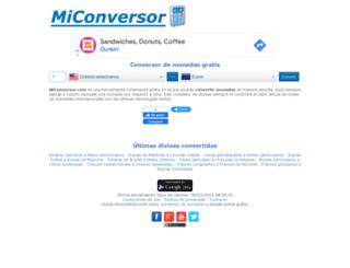miconversor.com screenshot