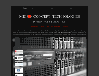 micro-concept.com screenshot