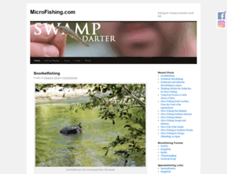 micro-fishing.com screenshot