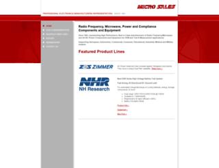 micro-sales.com screenshot