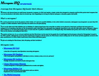 micro.brainiac.com screenshot