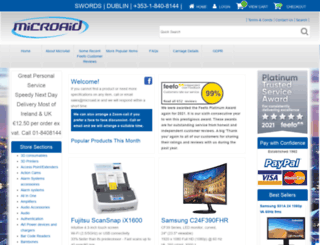 microaid.ie screenshot