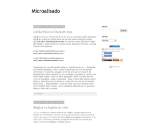 microalisado.blogspot.com screenshot