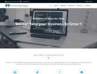 microarctech.com screenshot