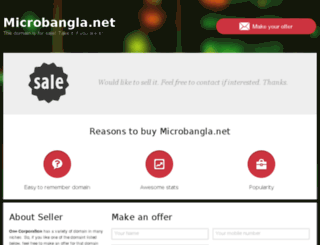 microbangla.net screenshot