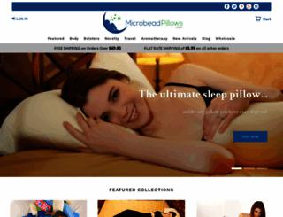 microbead-pillows.com screenshot