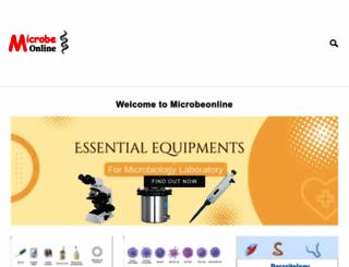 microbeonline.com screenshot