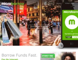 microborrow.com screenshot