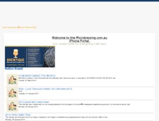 microbrewing.com.au screenshot
