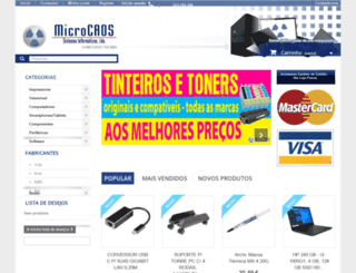 microcaos.pt screenshot