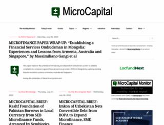 microcapital.org screenshot