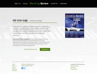 microcapreview.com screenshot