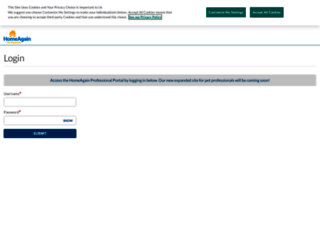 microchip.homeagain.com screenshot