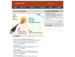 microcoders.co.uk screenshot