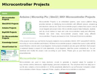 microcontroler.weebly.com screenshot