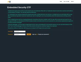 microcorruption.com screenshot