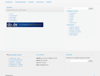 microdomain.de screenshot