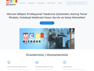 microerbilisim.com screenshot