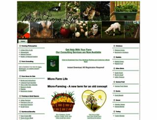 microfarmlife.com screenshot