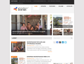 microfinancefocus.com screenshot