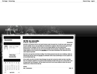 microlan.bloggplatsen.se screenshot