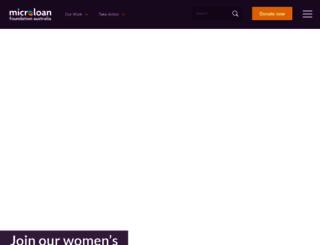 microloanfoundation.org.au screenshot