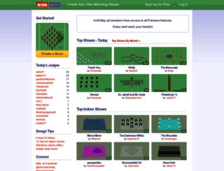 micromarching.com screenshot