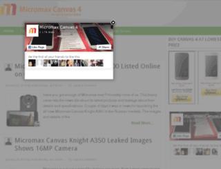 micromaxcanvas4.in screenshot