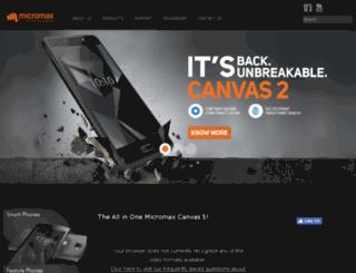 micromaxinfo.com.bd screenshot