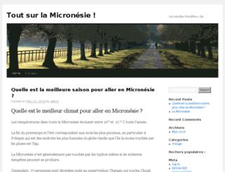 micronesie.net screenshot