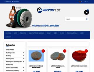 micronplus.cz screenshot