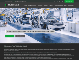 microntechgroup.com screenshot