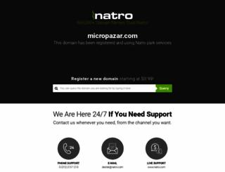 micropazar.com screenshot