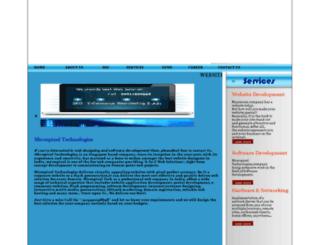 micropixel.in screenshot