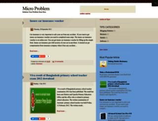 microproblem.blogspot.com screenshot