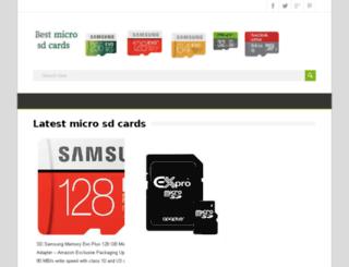 microsdcardsgb.com screenshot