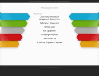 microsearch.com screenshot
